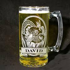 personalized wild turkey beer stein