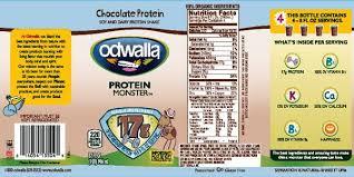 odwalla recalls chocolate protein