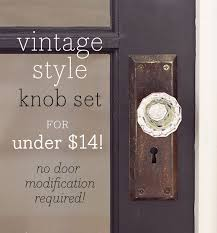 a vintage glass doorknob diy for under