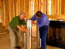 direct vent fireplace installation