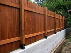 Concrete Fence Post Brackets Fences Concrete Fence Fence Design Concrete Fence Posts
