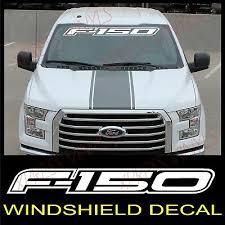 Ford F 150 Windshield Window Vinyl Decal Sticker Outline Vehicle Logo White 40 Ebay