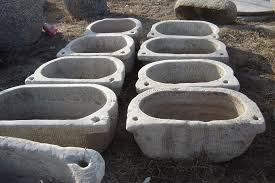 china old stone trough marble sh394