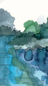 80 watercolor iphone wallpapers on