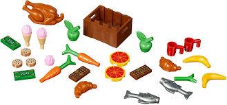 Đồ chơi lắp ráp LEGO City 40309 - Bộ Xếp hình Thức Ăn (LEGO 40309 Food  Accessories) giá rẻ tại cửa hàng LegoHouse.vn LEGO Việt Nam
