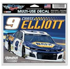 2018 Chase Elliott Hendrick Motorsports 9 Car Hms Bumper Nose Decal Nascar 9 Sports Mem Cards Fan Shop Racing Nascar Dr Lindner Ipn Co Il