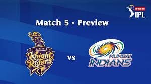 KKR vs MI IPL 2020 Match 5: Match build ...