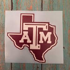 Texas A M Yeti Decal Rambler 20 Oz Or 30 From Hollysnewcreat