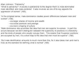 "Allan Johnson, ""Patriarchy"" - ppt video online download"