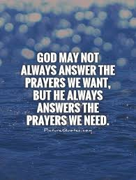 quotes about prayers answered quotes
