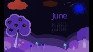 june 2018 calendar wallpapers you