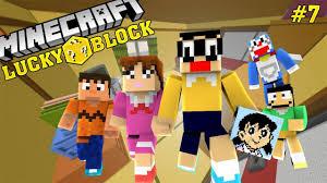 Oops Club Minecraft Lucky Block Challenge - Tập 7: SHIZUKA ĐẾN ...