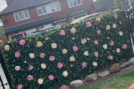 Woman Makes A Stunning Flower Wall Using Faux Bouquets From Home Bargains People Are Desperate To Copy Her Idea