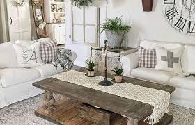 cozy modern farmhouse living room decor