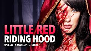 little red riding hood sfx makeup
