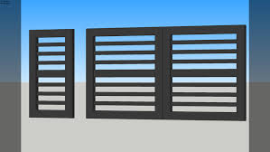 Steel Gate 3d Warehouse