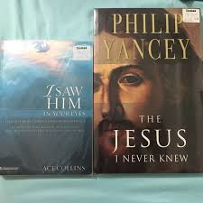 Philip Yancey - The Jesus I never knew, Ace Collins - I saw Him in your  eyes, Books & Stationery, Fiction on Carousell