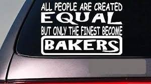 Amazon Com Bakers All People Equal 6 Sticker Decal Vinyl Cook Baking Recipe Dessert Home Kitchen
