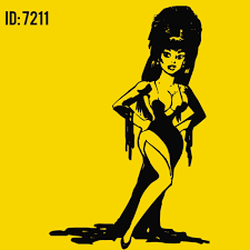 Elvira Iron On Decal For Diy Personalized T Shirts