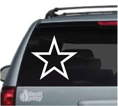 Star Car Decals Stickers Decal Junky