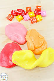 starburst slime edible silly putty