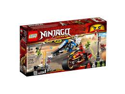 CÓ SẴN] LEGO Ninjago 70667 - Siêu Xe Lửa Của Kai Và Xe Băng Của ...