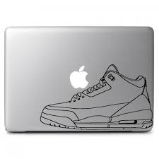 Air Jordan Retro No 3 Shoes Apple Macbook Air Pro 13 15 17 Vinyl Decal Sticker Dreamy Jumpers