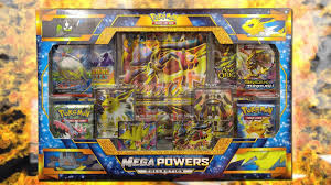 Pokemon Cards - NEW Mega Powers Collection Box Opening Battle vs ...