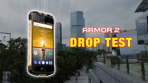 Watch this Ulefone Armor 2 drop test ...