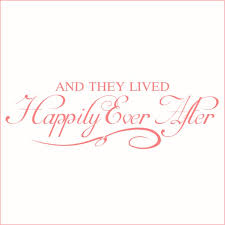 And They Lived Happily Ever After 2 Vinyl Decal Medium Pink Walmart Com Walmart Com