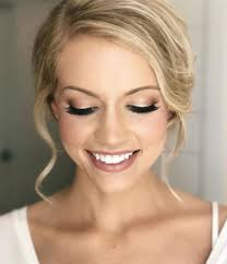 wedding day makeup for blue eyes