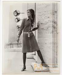 USA 1960's Women Fashion Adele Martin Shirt Dress old Photo ...