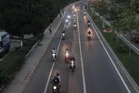 Barkın Bayoğlu için onlarca motosikletli bir araya geldi