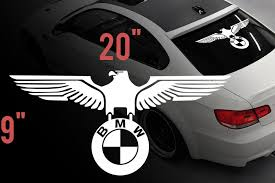 Product Bmw Eagle German Car Rear Window Vinyl Stickers Decals For M3 M5 M6 E36 All