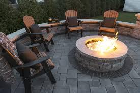 paver patio fire pit best fire pit table
