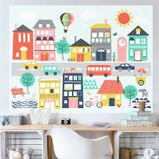 Oopsy Daisy Trip To The City By Ampersand Design Studio Wall Decal Wayfair