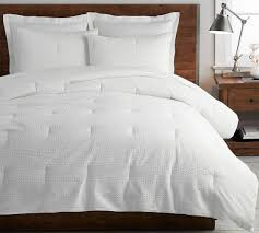 waffle weave textured comforter
