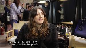 Fashion Insiders by Daria Shapovalova: Georgina Graham, international  make-up artist - YouTube