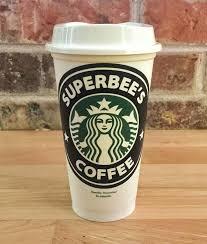 Starbucks Cup Custom Sticker Vinyl Motion