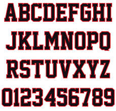 Reflective Academic Letters And Numbers Helmet Decal Police Fire Ems Viny Graphics Stickers Decals Dkedecals