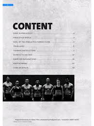 freeletics cardio guide fichier pdf