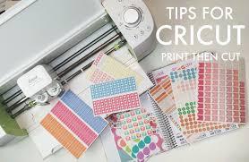 Five Sixteenths Blog Tips For Cricut Explore Print Then Cut Making Stickers