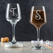Personalised Wedding Party Wine Glass Sticker Engraved With Initials Custom Name Decal Stemless Wine Glass Letter Sticker Eb038 Wall Stickers Aliexpress