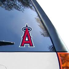Wincraft Los Angeles Angels 4 X 4 Color Perfect Cut Decal