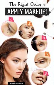 makeup order that you must know