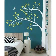 multicolor tree wall painting rs 50