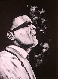 Ray Charles Painting by Byron Bailey