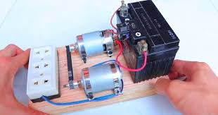 diy how to make 220v generator dynamo