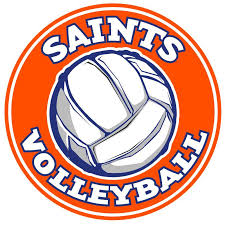 Saints Volleyball Car Decal Slc Saints Spirit Store