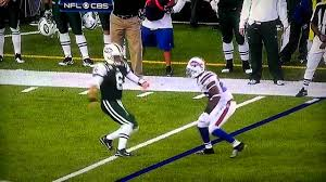 New York Jets Mark Sanchez Flinch vs ...